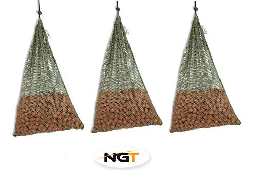 GnT NGT X 3 LargeメッシュAir Dry Boilieバッグ30 x 45 cm/Coarse Fishing   B013WIE05M