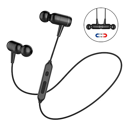 Stereo Bluetooth Headset Sport for Samsung Galaxy Black - 9