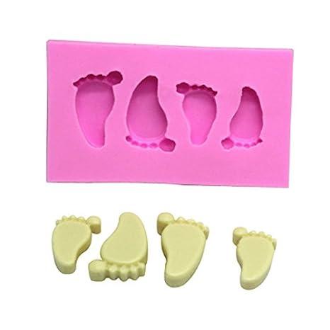Joyfeel buy Molde Silicona reposteria 3D pies bebé Molde ...