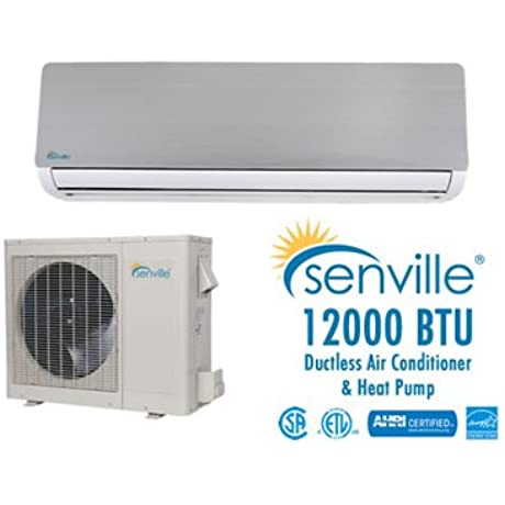 Senville 12000 BTU Ductless Air Conditioner Heat Pump