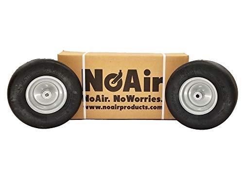 NoAir (2) Dixie Chopper Flat Free Wheel Assem 13x5.00-6 Fits 42