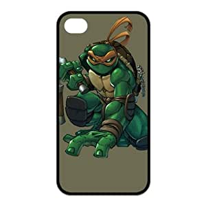 FashionFollower Design NN TMNT Teenage Mutant Ninja Turtles Beautiful Case Suitable For iphone4/4s IP4WN31303
