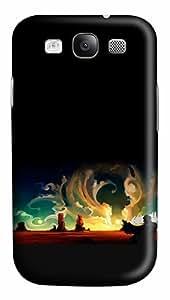 Desert Winds Custom Polycarbonate Plastics Case for Samsung Galaxy S3 / S III/ I9300