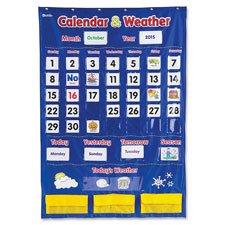 Calendar/Weather Pocket Chart, 30-3/4\