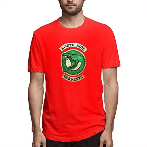 Monicame Men's South Side Serpents Fashion Print T-Shirt