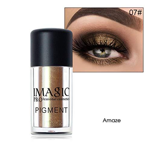 Eyeshadow Metallic Loose Powder Waterproof Shimmer Pigments