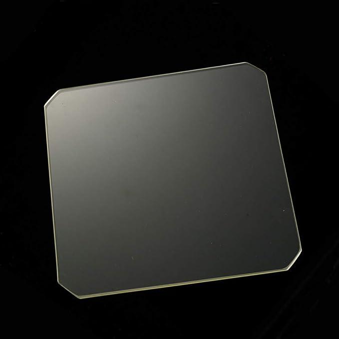 Amazon.com: Placa de cristal de borosilicato pulido Chamfer ...