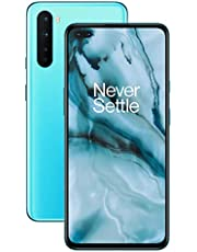 "OnePlus NORD Smartphone Blue Marble | 6.44"" Fluid AMOLED Display 90Hz |8GB RAM + 128GB Opslag | Quad Camera| Warp Charge 30T | Dual Sim | 5G"