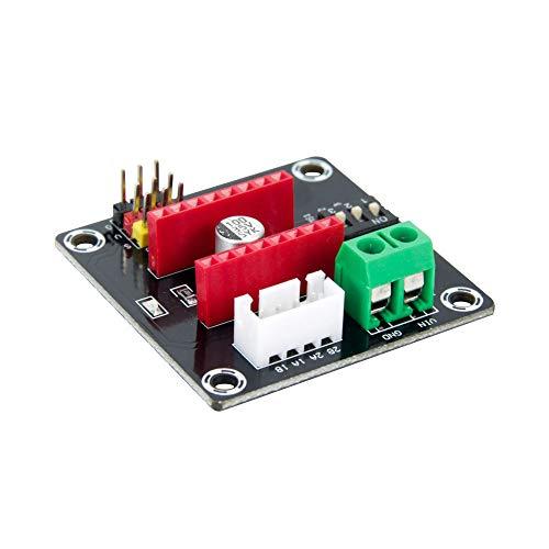 Oak-Pine 3D Printer 42CH Stepper Motor Driver Shield Expansion Board DRV8825/A4988 UNO R3(Black)