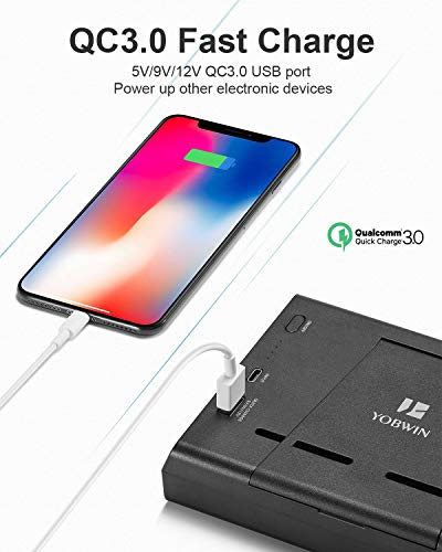 10000mAh Battery Charger Case for Switch, YOBWIN Portable Backup Charger Station Console with a Pair of Joy-Con Grip… 5
