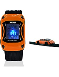 Kids Watches Boys Girls Waterproof Sports Rubber Digital LED Wristwatches for Children,for Age 3