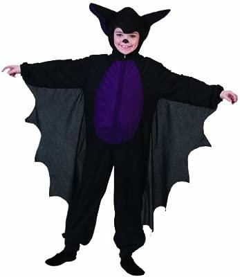 Funny Fashion 404186 - Disfraz de murciélago para niño (talla 116 ...