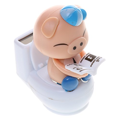 MagiDeal Powered Bobble Sitting Ornament