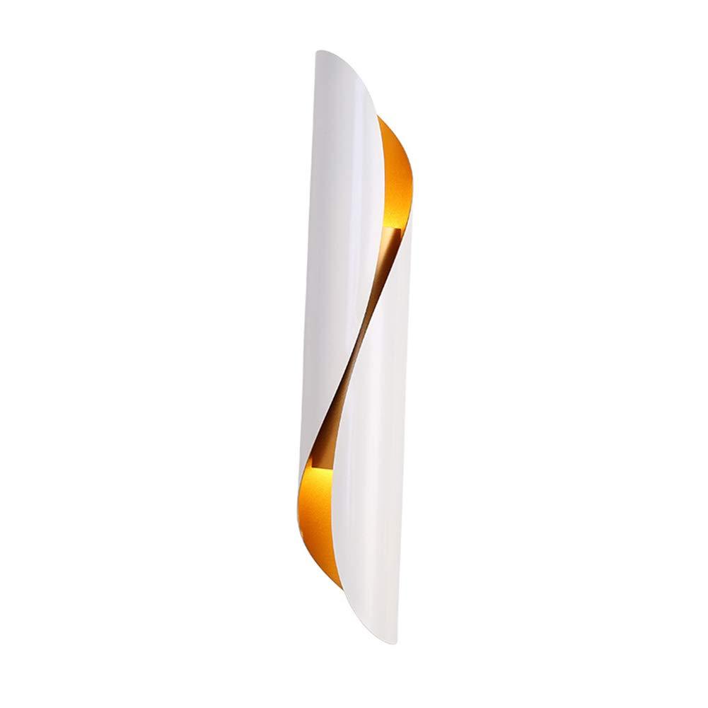 FZC-EEウォールランプの寝室の現代壁ライトの装飾壁取り付け用燭台黒シンプルなLEDアイアンアートカフェリビングルームのベッドサイドE27 110V-220V, B   B07TSZFR4V