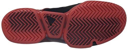 Adidas Mens Adizero Ubersonic 2 Scarpe Da Tennis Night Navy / Ecru Tinta / Traccia Scarlatto