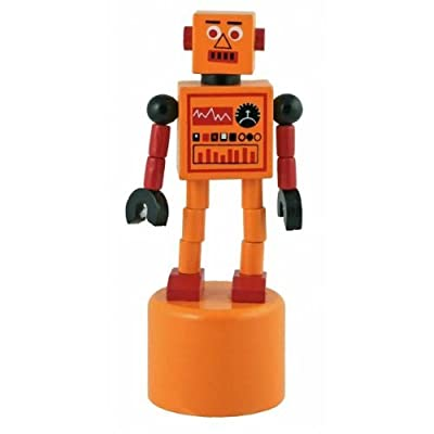 Robot Ringer Push Puppets by Streamline