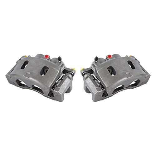 CCK11601 [2] FRONT Premium Grade OE Semi-Loaded Caliper Assembly Pair Set