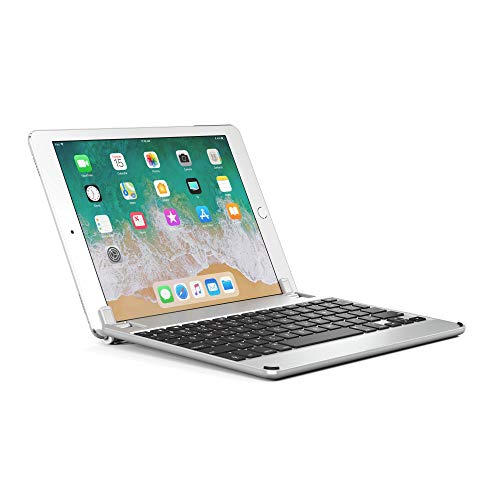 d800e4d949 Brydge 9.7 Aluminum Bluetooth Keyboard Compatible with iPad 6th Gen (2018)