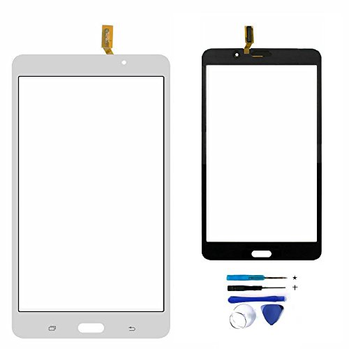 Touch Screen Digitizer Replacement for Samsung Galaxy TAB 4 7.0'' T230 T230NY T230NU T230NT WIFI with Tools (White) NO Earpiece Hole by XR