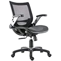 Poly and Bark Karlen Office Chair in Mesh, Black
