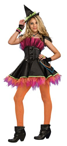 Drama Queens Rockin' Out Witch Costume Size Tween ()