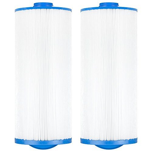 Clear Choice Pool Spa Filter 6.75 Dia x 15.50 in Cartridge Replacement for Jacuzzi Premium J-300 Baleen AK-90195, [2-Pack]