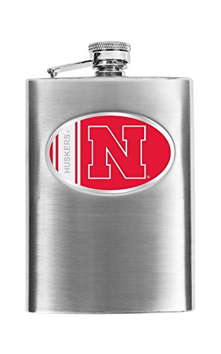 Simran International Petaca NCAA, Nebraska Cornhuskers, 236,59ml