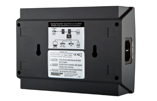 Monster PowerNet 300 Power Line Network Module with Clean Power (Discontinued by Manufacturer) by Monster (Image #1)