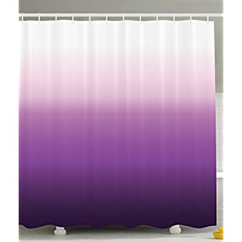 Purple Shower Curtain Home Decorations Art Bathroom Decor By Ambesonne, 70  Inches Long, Polyester
