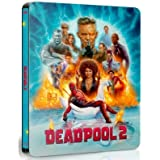 DEADPOOL 2 UHD 4K Steelbook Region-Free Czech Import 4-disc set in cluding Super-Duper Unrated Extended Cut in both Blu-ray a