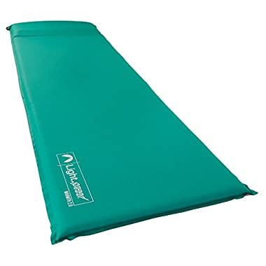 Lightspeed Outdoors Warmth Series Self Inflating Sleep Camp Pad (Thick and Warm)