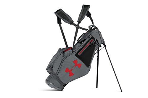 Under Armour Storm Speedround Stand Golf Bag (Graphite/Black/Red)