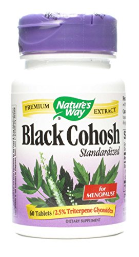 Natures Way Cohosh Standardized Tablets product image