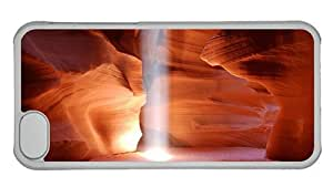 Hipster amazing iPhone 5C cases Antelope Canyon PC Transparent for Apple iPhone 5C