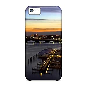Awesome Marina Flip Case With Fashion Design For Iphone 5c