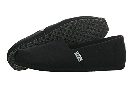 Toms Women's Black on Black Canvas Classic ASLPRG 10002472 (SIZE: 7.5) Photo #5