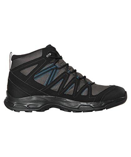 Salomon Men's Hiking Boots Hill Rock Mid 'GTX' schwarz/grau (718) TjqQUH
