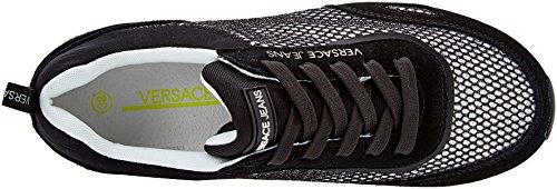 Donna Jeans Versace Scarpa Nero Sneaker Uaxwpqx