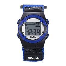 The WobL Watch - Children's 8-Alarm Vibrating Potty Training / Reminder Watch (Blue)
