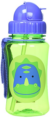 Skip Hop Straw Cup, Toddler Transition Sippy Cup, - Bag Velcro Lunch Lid