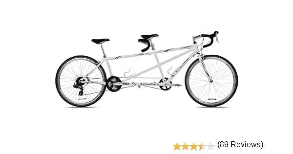 Giordano Viaggio Tandem para Bicicleta de Carretera, White Pearl ...