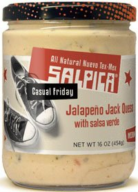Frontera Foods Inc. Dip, Jalapeno Jack Queso, 16-Ounce (Pack of 6) by Frontera Foods