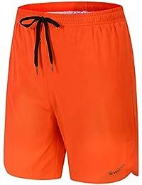 Men's Quick Dry Beach Shorts Swim Trunks with Mesh Lining