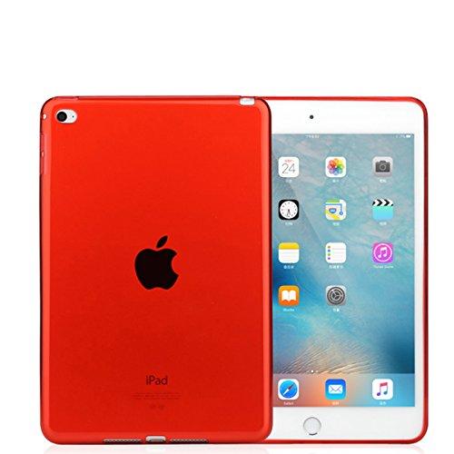 Silicone Clear Case for Apple iPad Mini 1/2/3 (Clear) - 3