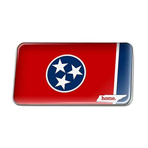 (GRAPHICS & MORE Tennessee TN Home State Flag Officially Licensed Rectangle Lapel Pin Tie Tack)