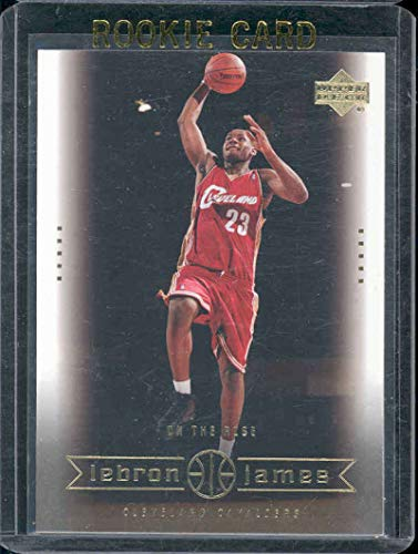 2003 Upper Deck #25 On the Rise Lebron James Rookie Card - Mint Condition Ships in a Brand New Holder