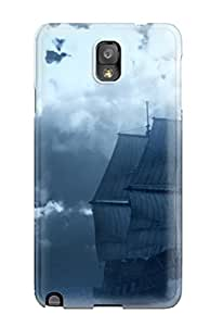 1768341K90342024 Hot Fashion Design Case Cover For Galaxy Note 3 Protective Case (naval Military)