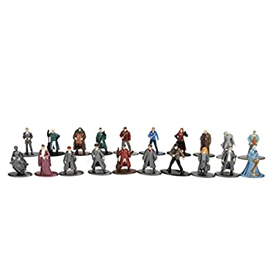 Nano Metalfigs Harry Potter Wave 1 Metals Die-Cast Collectible Figures (20 Piece), 1.65