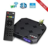 2018 Model Android 7.1 Smart TV Box 【2GB+16GB】- A95X New Generation Android TV Box with Amlogic S905W 64Bits Quad-Core/Built-in Wi-Fi/HDMI Output/USB2/4K UHD Web TV Box By Aoxun