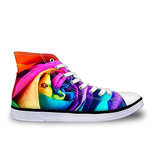 Canvas Shoes Women DESIGNS FOR Breathable Trainer Flower 6 Sneakers U Floral Casual 3D Fashion gqwwX1IZn